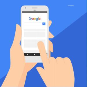 Google eye square mobile Study
