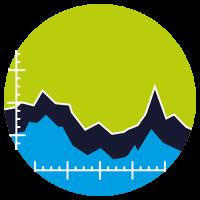 Implicit Icon mit einem Graph