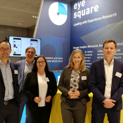 eye square auf dem ECR Tag 2019